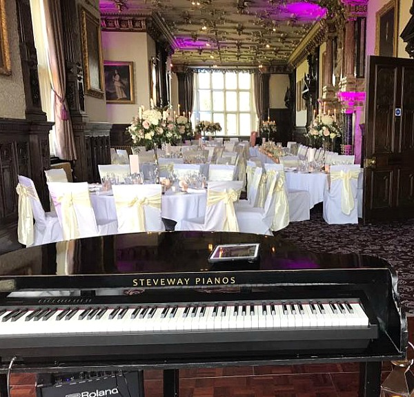 Andrea Lamballe Wedding Pianist Manchester